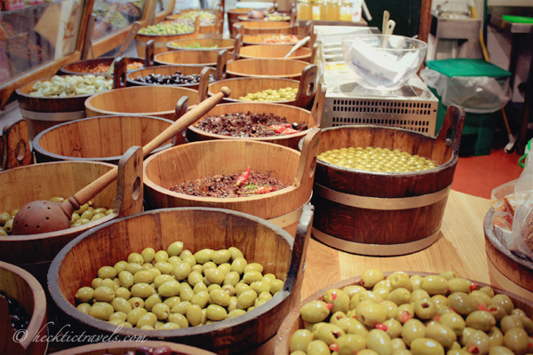Fresh Olives at the English Market