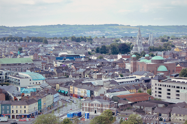 View of Cork from Atop the Shandon Church