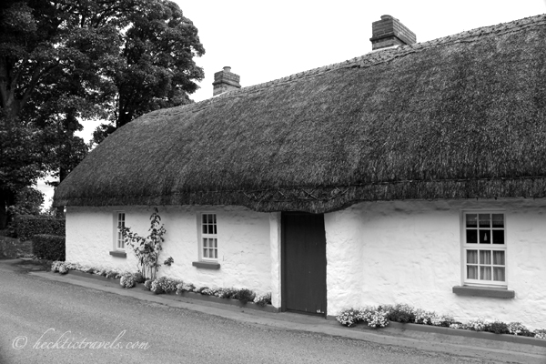 A Thatched Roof House