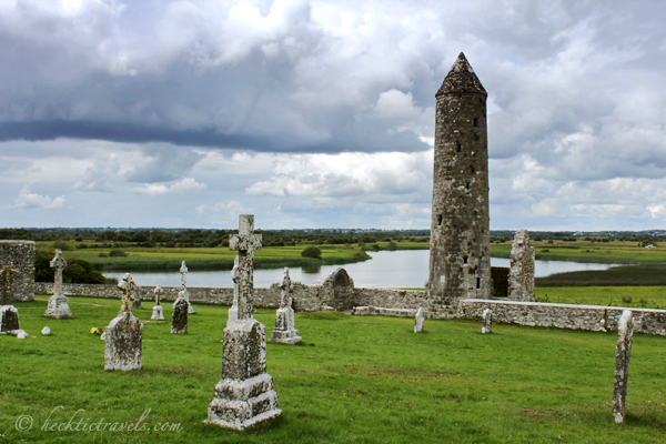 The Tower at Clonmacnoise, Ireland