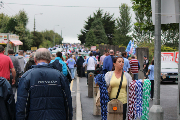 Thurles comes alive for a match
