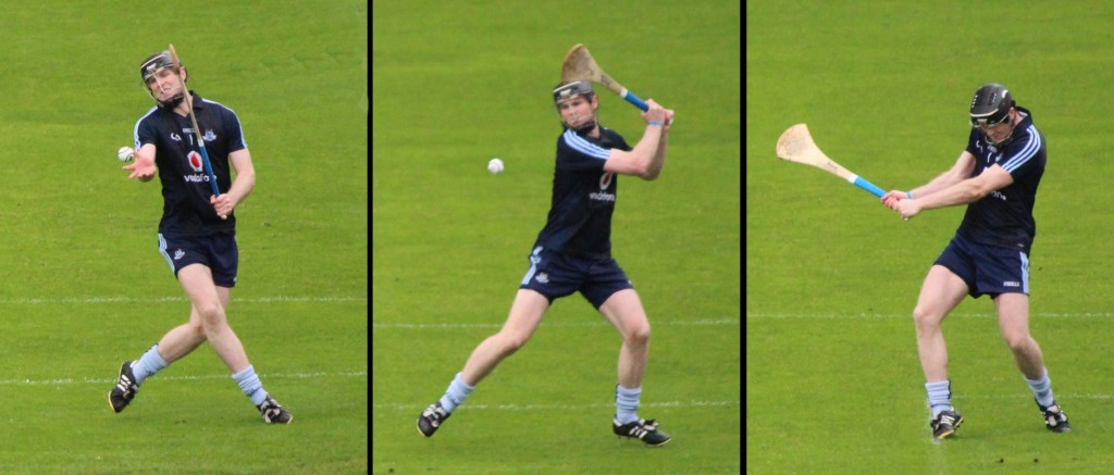 Hurling - Striking the ball