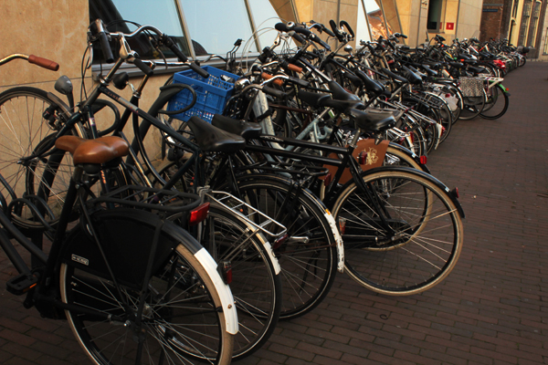 Lots of bikes - Haarlem