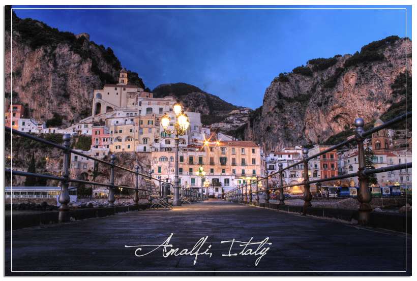 Amalfi from pier