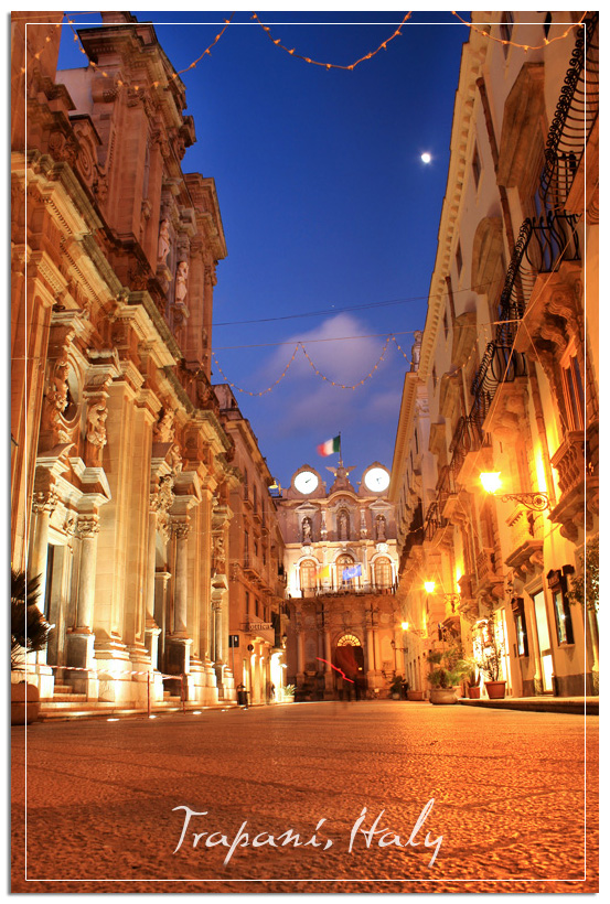 Old town Trapani