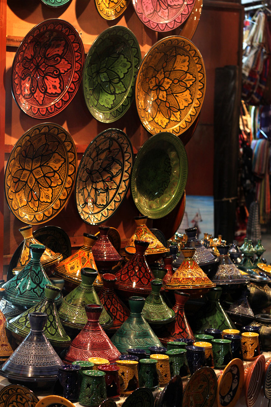 Tagine pots, Marrakech