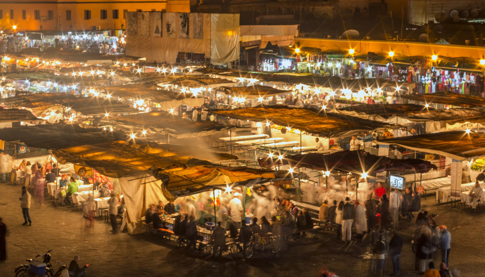 The Night Market in Marrakech thumbnail