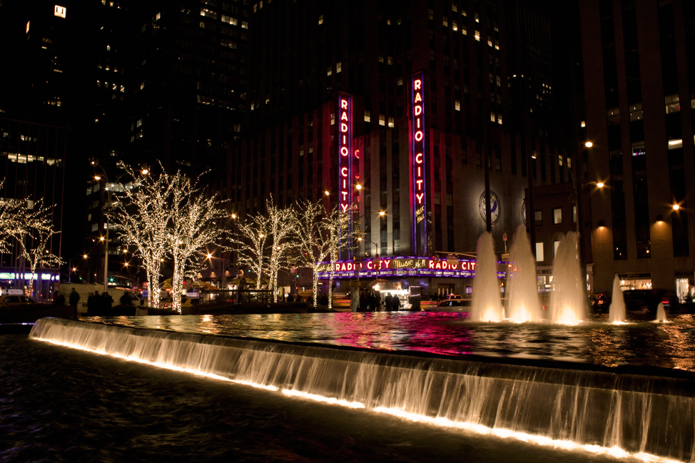 The Fountain in front of Radio City