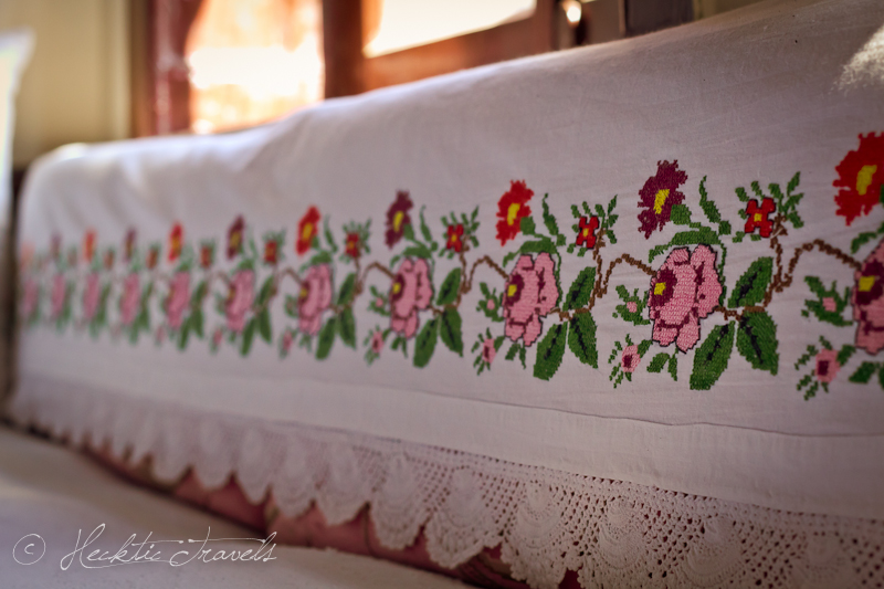 Embroidery - Traditional Turkish House