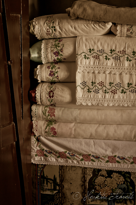 Old tablecloths - Traditional Turkish House