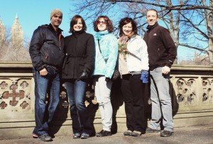 Daren, Sharon, Paula and us in Central Park