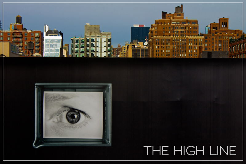 Watching You, High Line Park, New York City