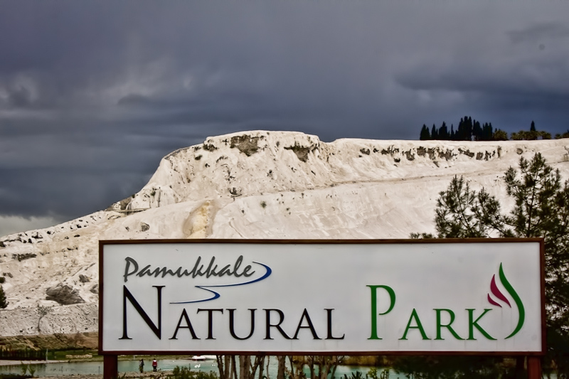 Pamukkale Natural Park Entrance