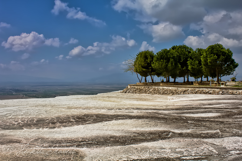 Top of Pamukkale