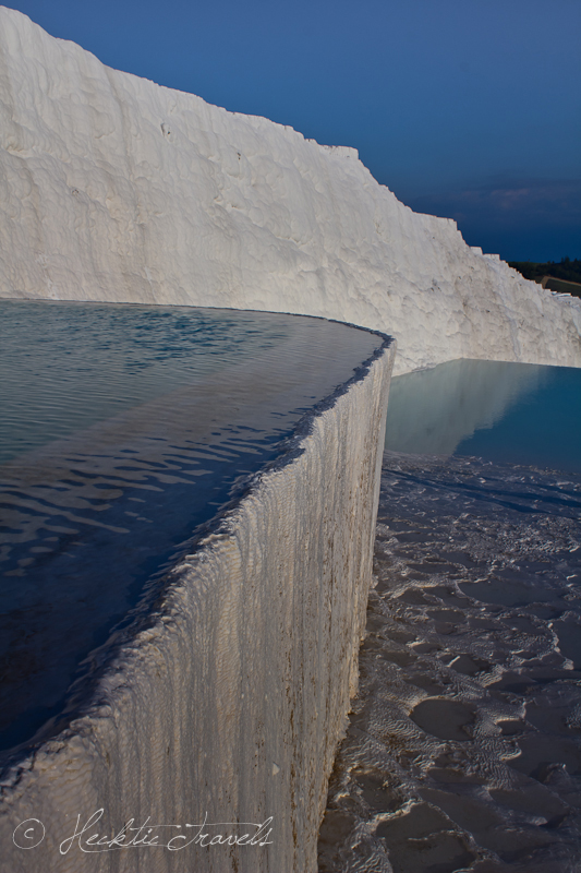 The Pamukkale pools