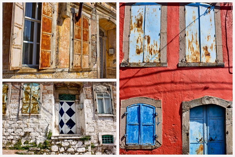 Bergama Streets Collage