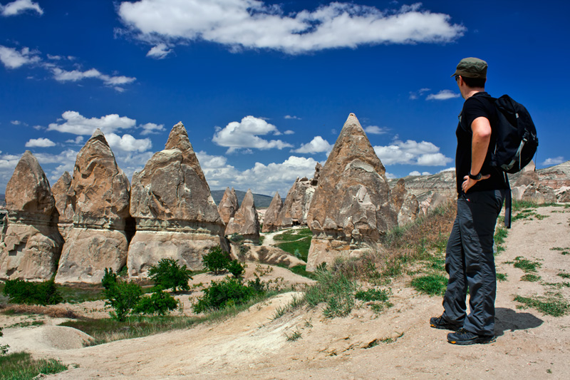 Pete in Cappadocia