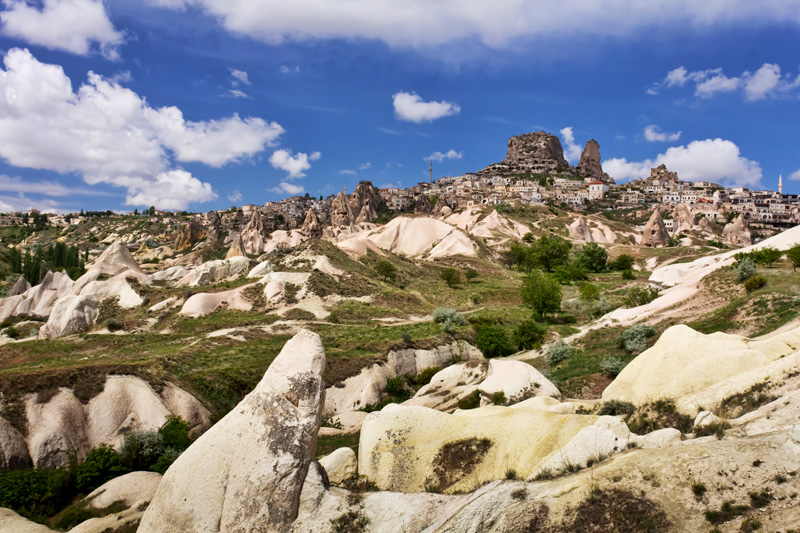 Cappadocia rock formations