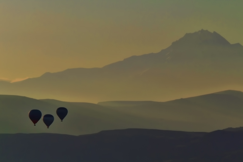 Cappadocia balloons