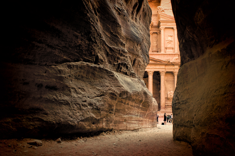 Jordan Petra - A Glimpse of the Treasury