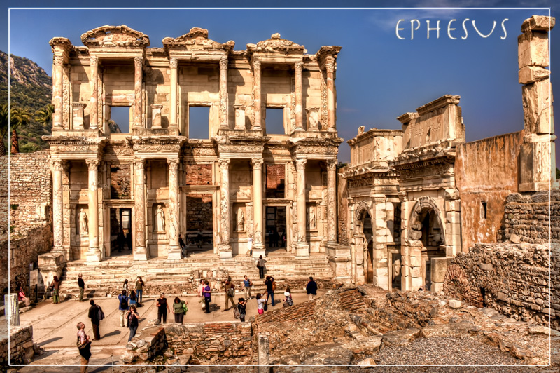 Ephesus postcard