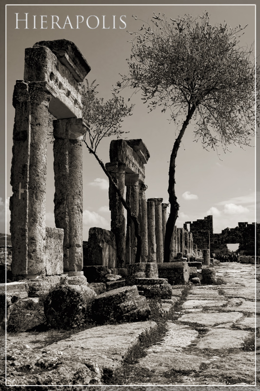 Hierapolis postcard