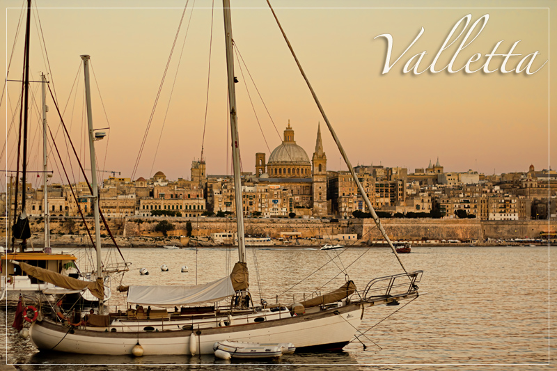 Valletta at Dusk