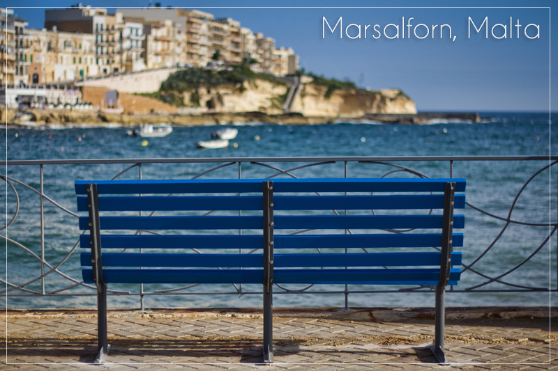 Empty Bench on Gozo