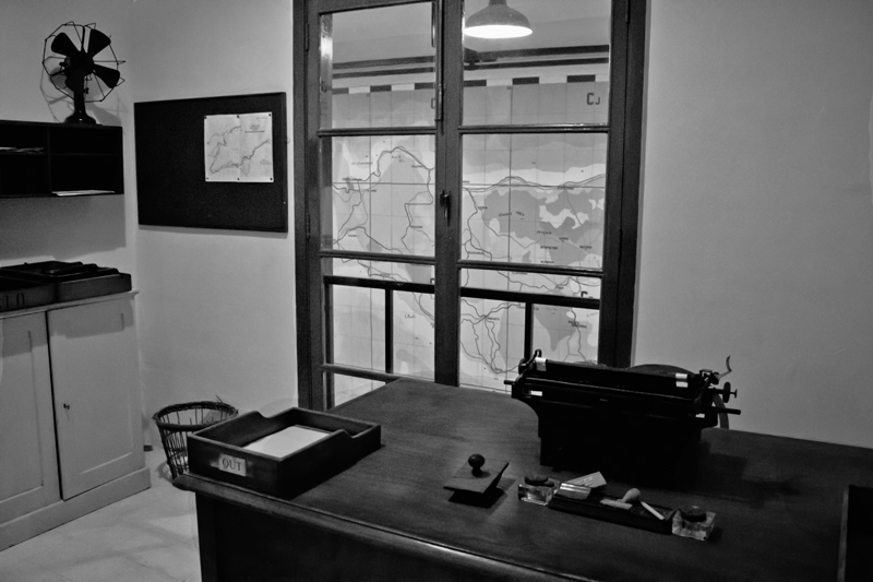 Office, War Rooms, Malta