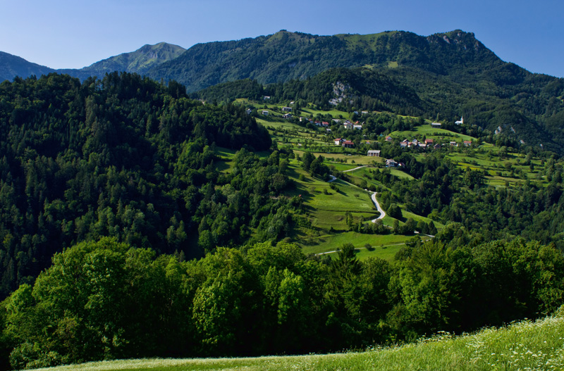 Slovenia countryside