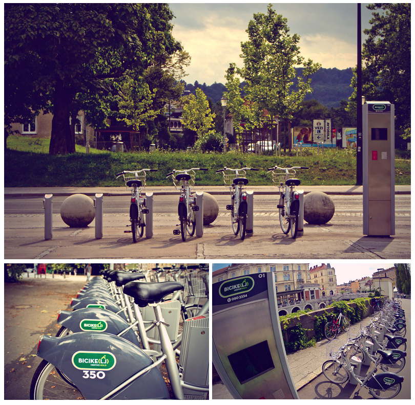 Ljubljana-Bicycle-Collage