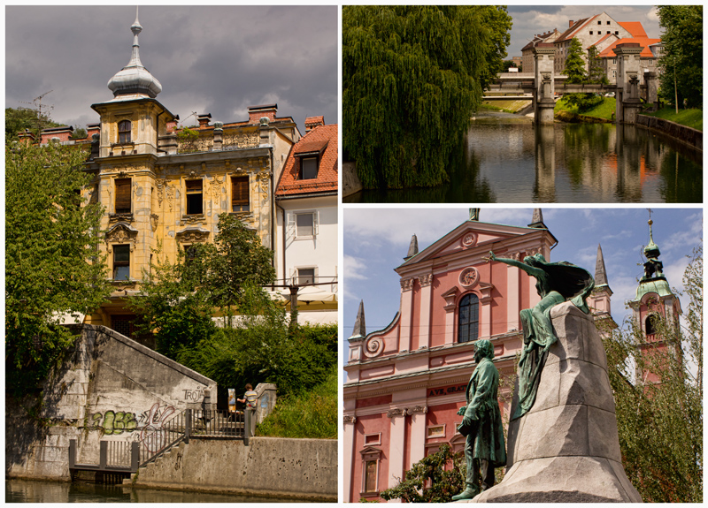 Ljubljana-Collage