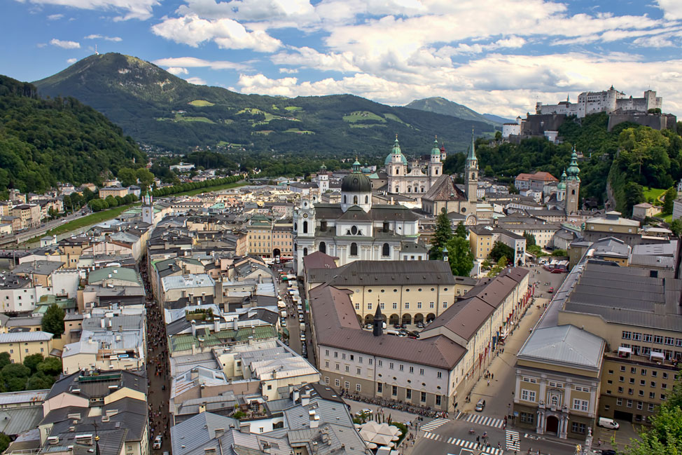 Salzburg from Above