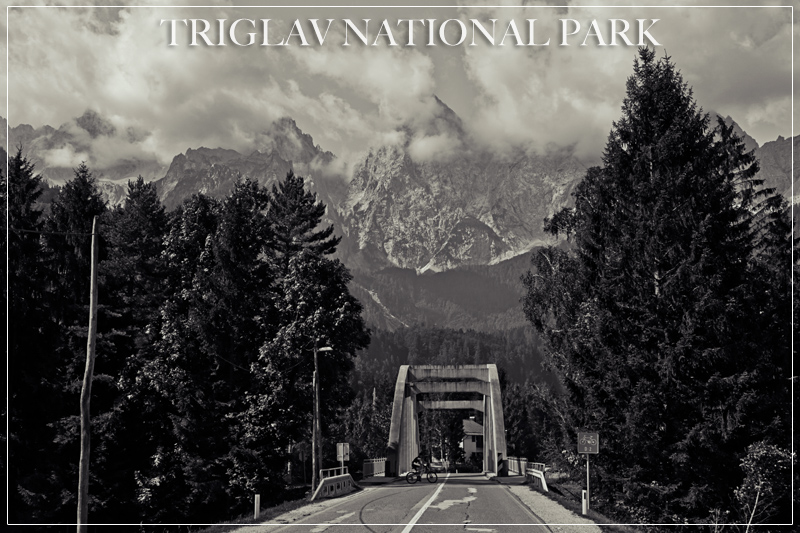 Triglav National Park Entrance