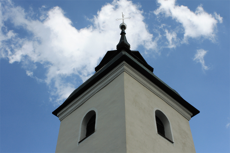 Church steeple Slovenia