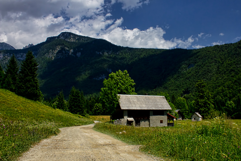 Cottage Julian Alps Slovenia