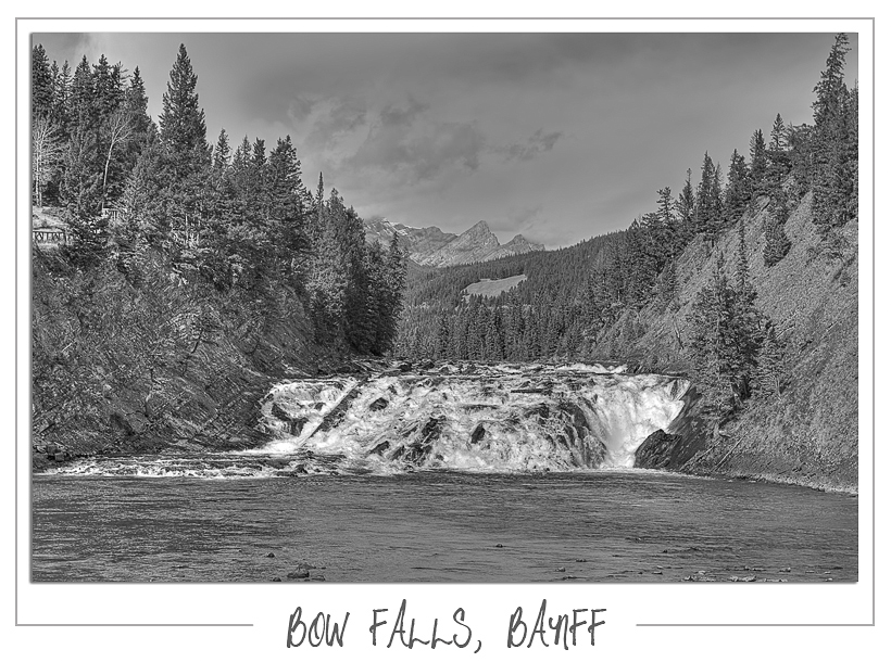 Bow Falls Banff