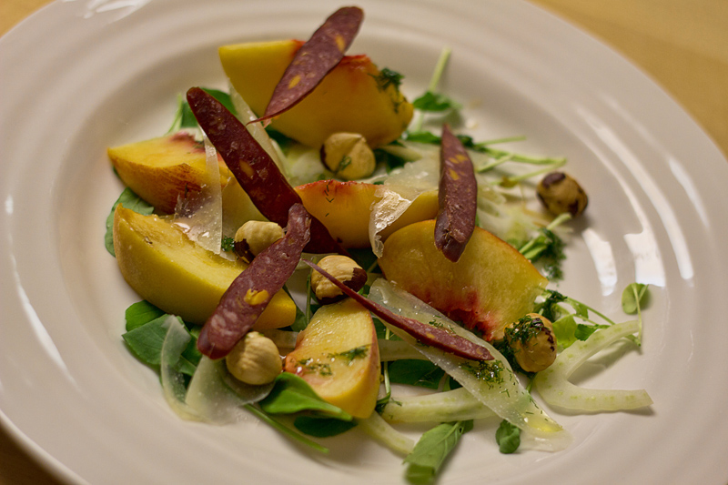 Fennel and Peach Salad