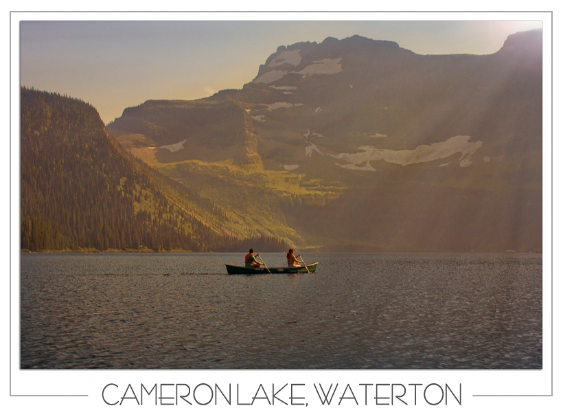 Waterton Cameron Lake