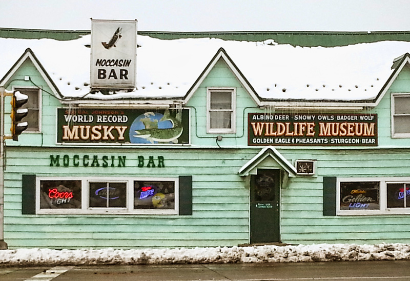 Moccasin Bar Hayward Wisconsin