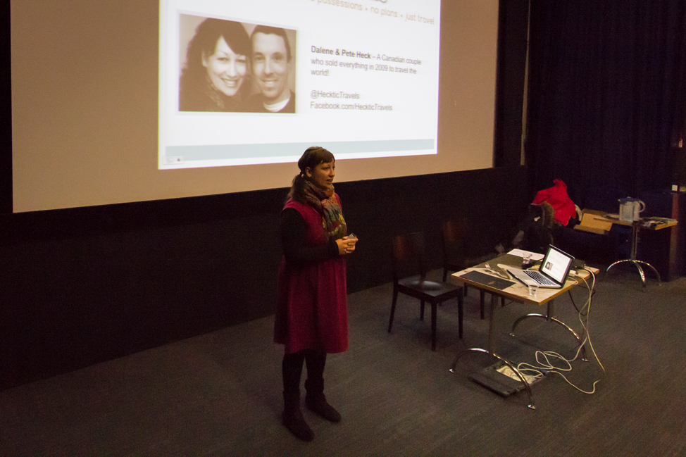 Presenting in Finland