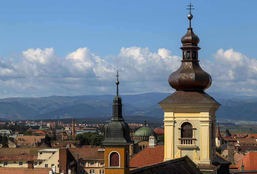Sibiu from Above