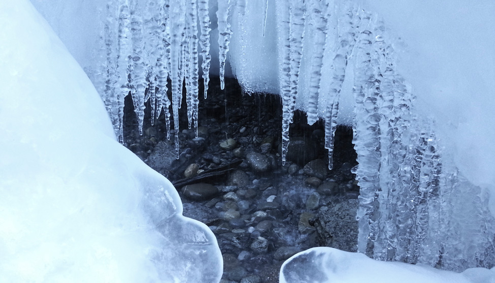 Inside an Ice Canyon thumbnail