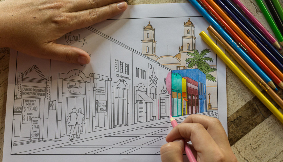 Mexico Colouring Book for Adults thumbnail