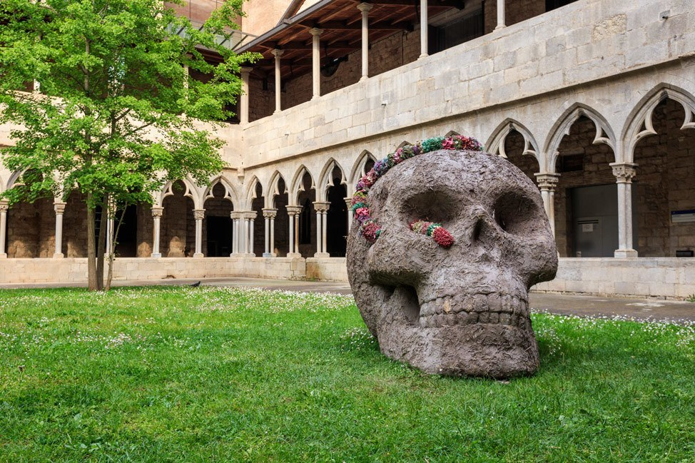 Temps de Flors University Cloisters