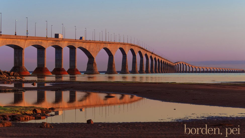 Pink-Confederation-Bridge