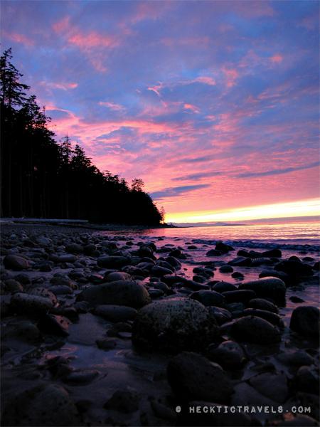 Vancouver Island - Sunset Rathtrevor Provincial Park