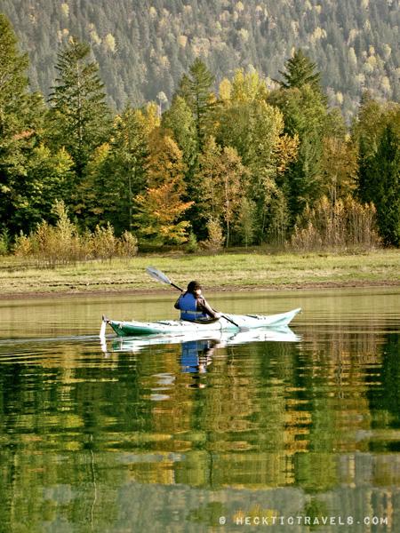 Kayaking Upper Arrow