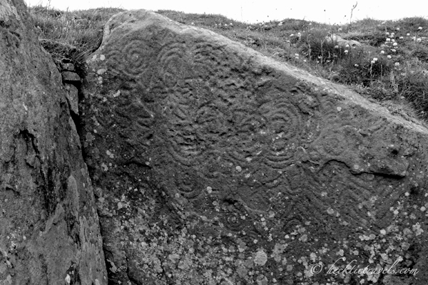 Carvings on Stones at Fore Loughcrew