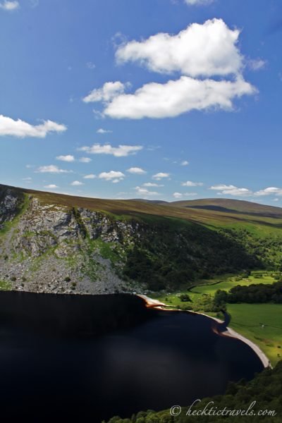 Lough Tay in the Wicklow Mountains